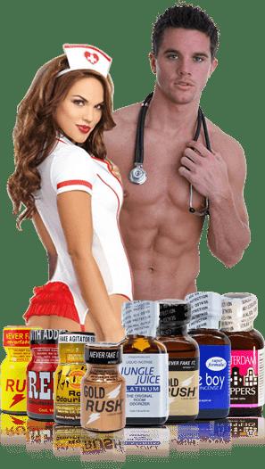 Poppers arome - Lista Poppers proizvoda